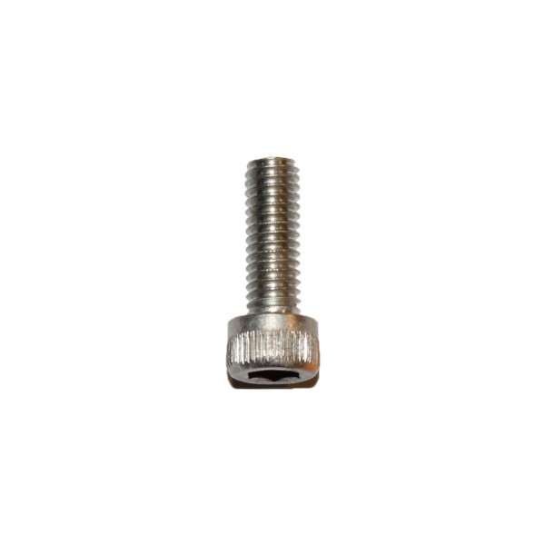 8 - 36 UNF x 1/2 Zoll Länge 12,70 mm Edelstahl A2 Innensechskantschraube
