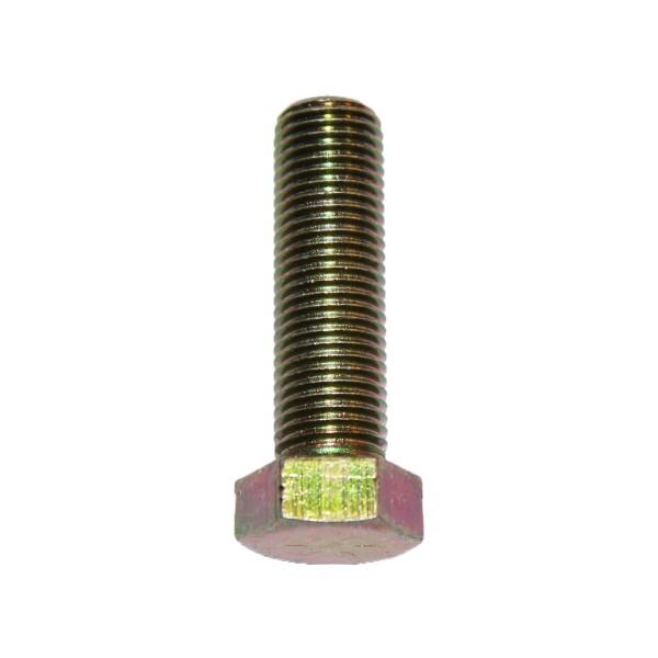 7/16 Zoll - 20 x 1 1/2 Zoll Länge 38,10 mm Sechskantschraube UNF 10.9 gelb verzinkt
