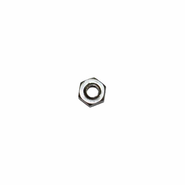 No. 3 - 48 Sechskantmutter Stahl blank UNC