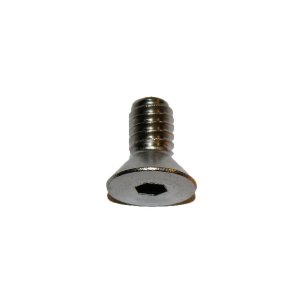 1/4 - 20 x 1/2 Zoll Senkkopfschraube m. Innensechskant UNC Länge 12,70 mm Edelstahl A2