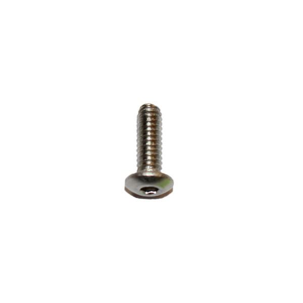 5 - 40 UNC x 3/8 Zoll Länge 9,52 mm Edelstahl A2 Linsenkopfschraube