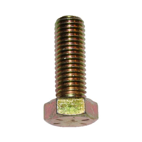 5/8 Zoll - 11 x 1 3/4 Zoll Länge 44,45 mm Sechskantschraube UNC 10.9 gelb verzinkt