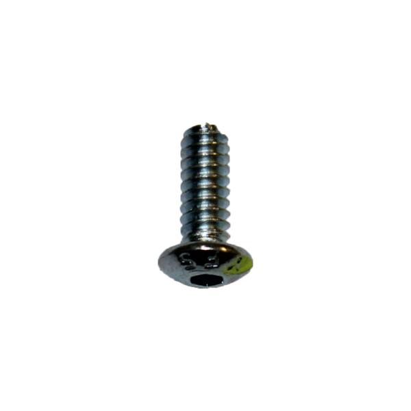 6 - 32 UNC x 3/8 Zoll Länge 9,53 mm Linsenkopfschraube verzinkt