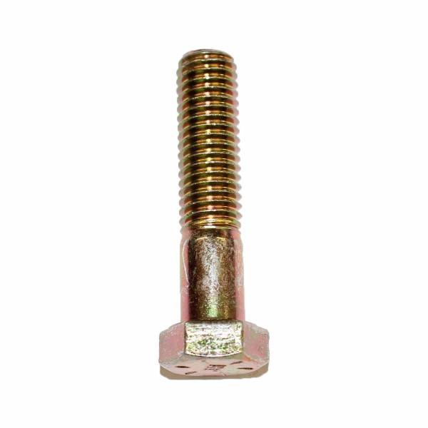 1/2 Zoll - 13 x 2 1/4 Zoll Länge 57,15 mm Sechskantschraube UNC 10.9 gelb verzinkt