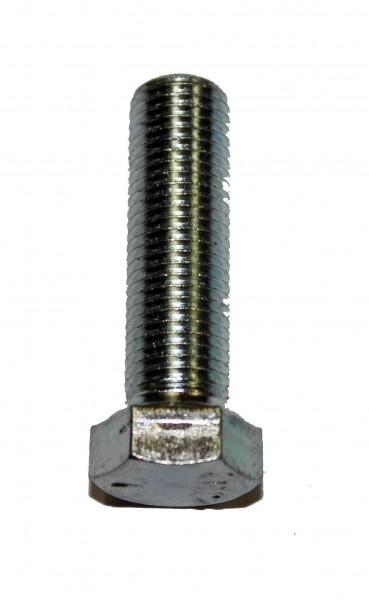 7/16 Zoll - 20 x 1 Zoll Länge 25,40 mm Sechskantschraube UNF verzinkt