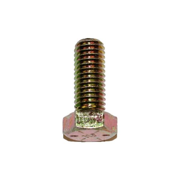 1/2 Zoll - 13 x 1 1/4 Zoll Länge 31,75 mm Sechskantschraube UNC 10.9 gelb verzinkt