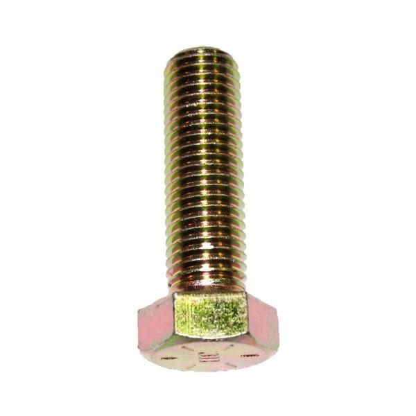 3/4 Zoll - 10 x 2 1/2 Zoll Länge 63,50 mm Sechskantschraube UNC 10.9 gelb verzinkt