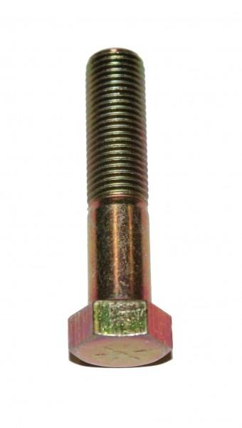 7/16 Zoll - 20 x 2 Zoll Länge 50,80 mm Sechskantschraube UNF 10.9 gelb verzinkt