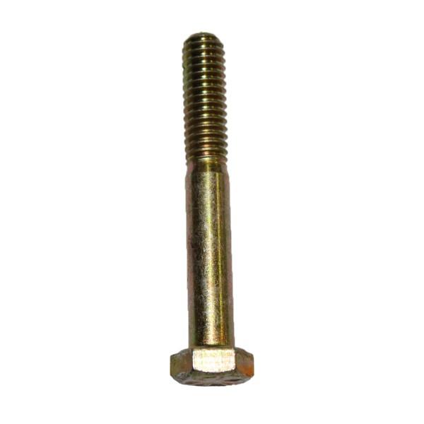 5/16 Zoll - 18 x 3 Zoll Länge 76,20 mm Sechskantschraube UNC 10.9 gelb verzinkt
