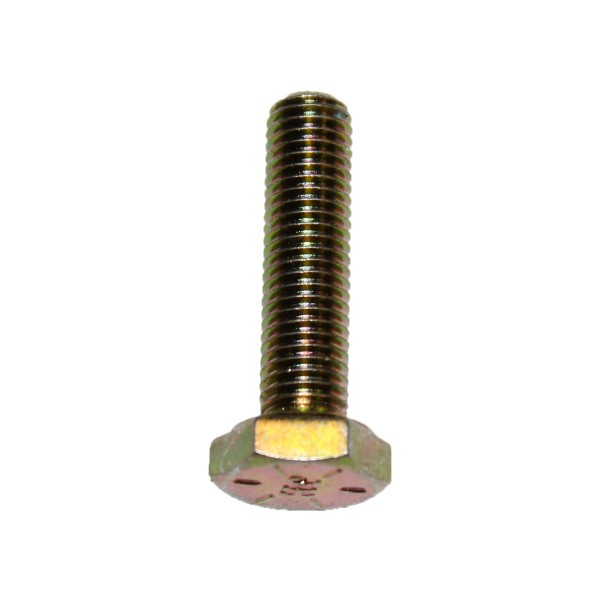 1/4 Zoll - 28 x 1 Zoll Länge 25,40 mm Sechskantschraube UNF 10.9 gelb verzinkt