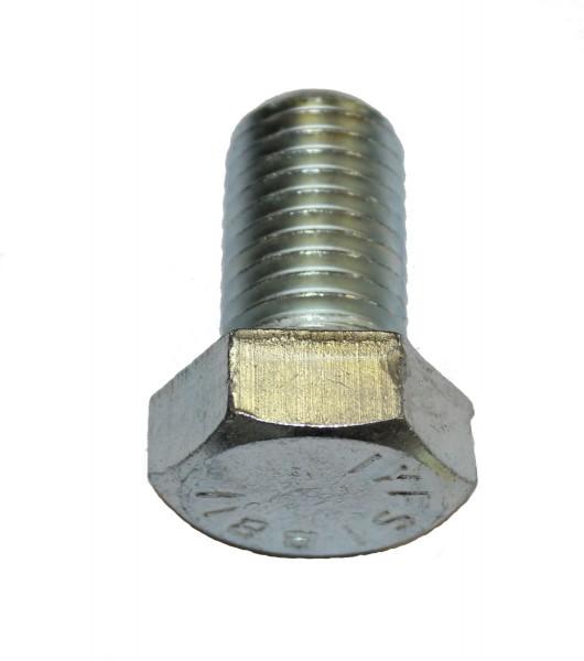 7/8 Zoll - 9 x 1 1/2 Zoll Länge 38,10 mm Sechskantschraube UNC verzinkt