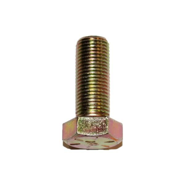 1/2 Zoll - 20 x 1 1/4 Zoll Länge 31,75 mm Sechskantschraube UNF 10.9 gelb verzinkt