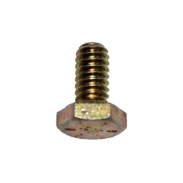 1/4 Zoll - 20 x 1/2 Zoll Länge 12,70 mm Sechskantschraube UNC 10.9 gelb verzinkt