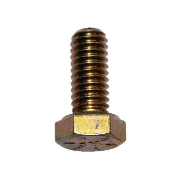 5/16 Zoll - 18 x 3/4 Zoll Länge 19,05 mm Sechskantschraube UNC 10.9 gelb verzinkt