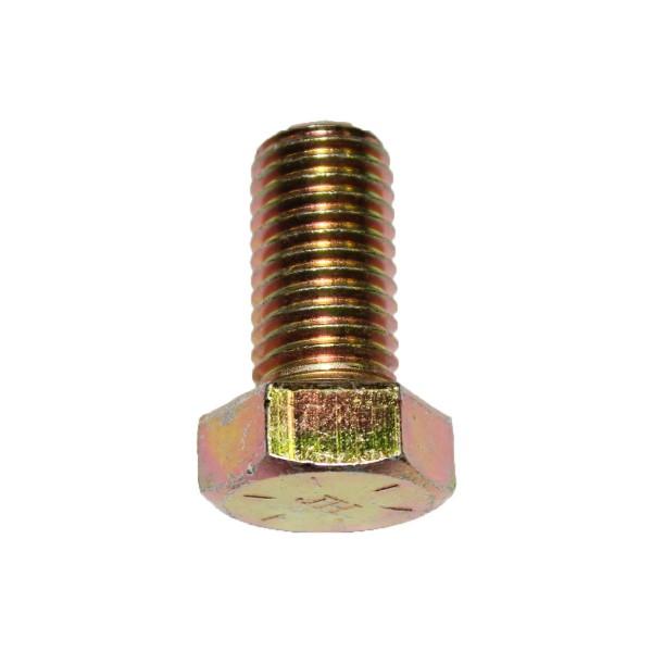 3/4 Zoll - 10 x 1 1/2 Zoll Länge 38,10 mm Sechskantschraube UNC 10.9 gelb verzinkt