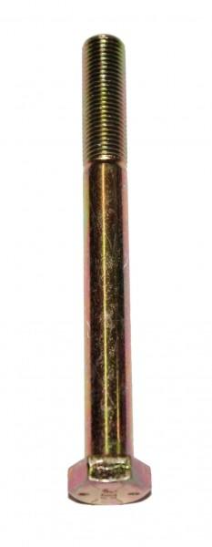 3/8 Zoll - 24 x 4 1/2 Zoll Länge 114,30 mm Sechskantschraube UNF 10.9 gelb verzinkt