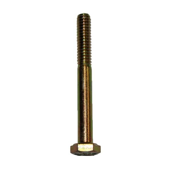 1/4 Zoll - 20 x 2 1/4 Zoll Länge 57,15 mm Sechskantschraube UNC 10.9 gelb verzinkt