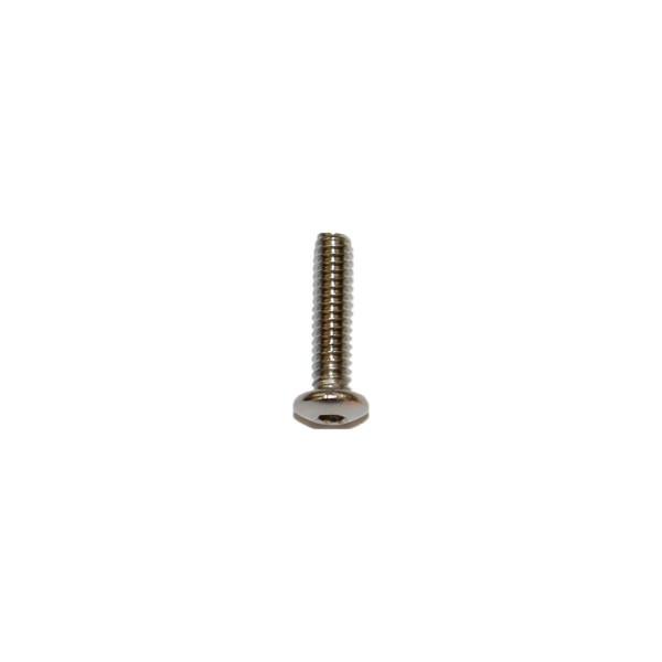 2 - 56 UNC x 3/8 Zoll Länge 9,52 mm Edelstahl A2 Linsenkopfschraube