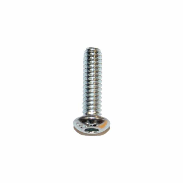10 - 24 UNC x 3/4 Zoll Länge 19,05 mm Linsenkopfschraube verzinkt