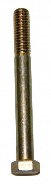 7/16 Zoll - 14 x 4 Zoll Länge 101,60 mm Sechskantschraube UNC 10.9 gelb verzinkt