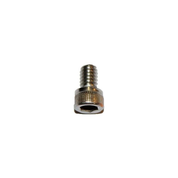 8 - 32 UNC x 1/4 Zoll Länge 6,35 mm Edelstahl A2 Innensechskantschraube