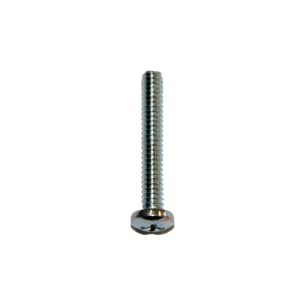 4 - 40 UNC x 3/4 Zoll Länge 19,05 mm Linsenkopfschraube verzinkt UNC