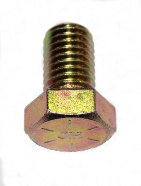 5/8 Zoll - 11 x 1 Zoll Länge 25,40 mm Sechskantschraube UNC 10.9 gelb verzinkt