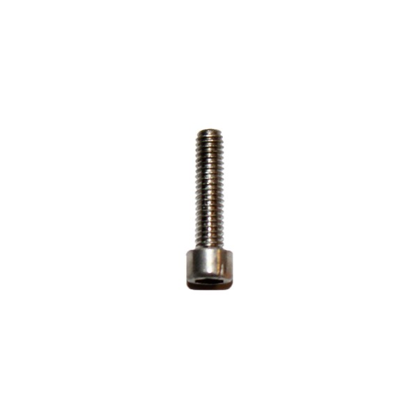 2 - 64 UNF x 3/8 Zoll Länge 9,53 mm Edelstahl A2 Innensechskantschraube