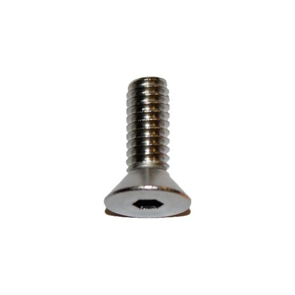 1/4 - 20 x 3/4 Zoll Senkkopfschraube m. Innensechskant UNC Länge 19,05 mm Edelstahl A2