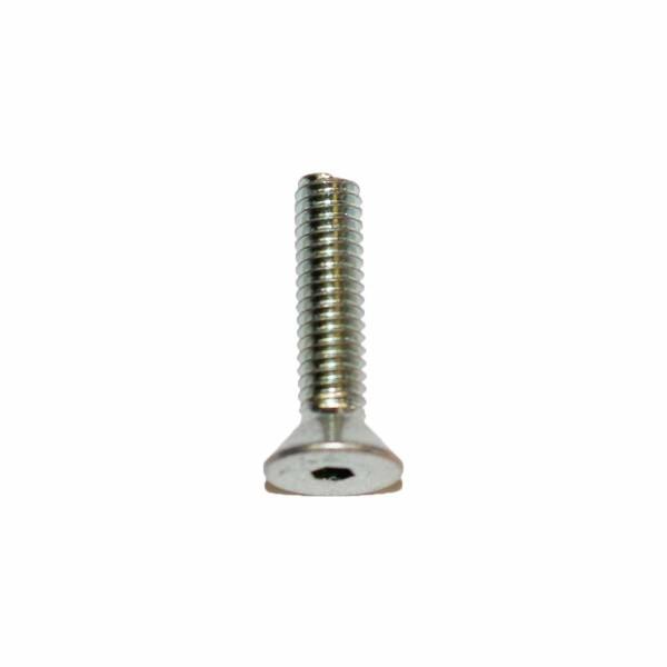 8 - 32 UNC x 3/4 Zoll Länge 19,05 mm Senkkopfschraube m. Innensechskant verzinkt