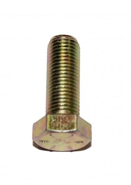 7/16 Zoll - 20 x 1 Zoll Länge 25,40 mm Sechskantschraube UNF 10.9 gelb verzinkt