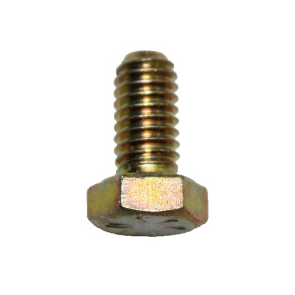 5/16 Zoll - 18 x 1/2 Zoll Länge 12,70 mm Sechskantschraube UNC 10.9 gelb verzinkt